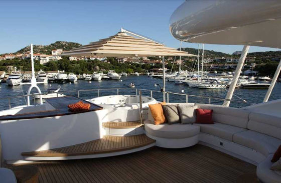 Picture of Monster Yacht Umbrellas